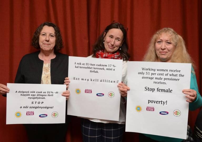 Akció a Nemzetközi Nőnapon!