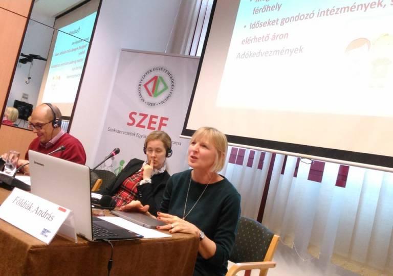 Szociális Jogok Európai Pillére (konferencia 2017.11.23.) SZEF fotó